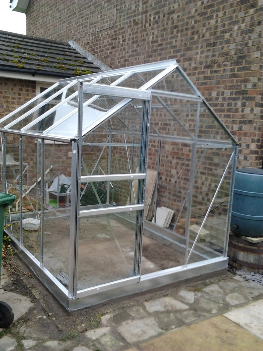 Halls Pop Greenhouse 6' x 8'