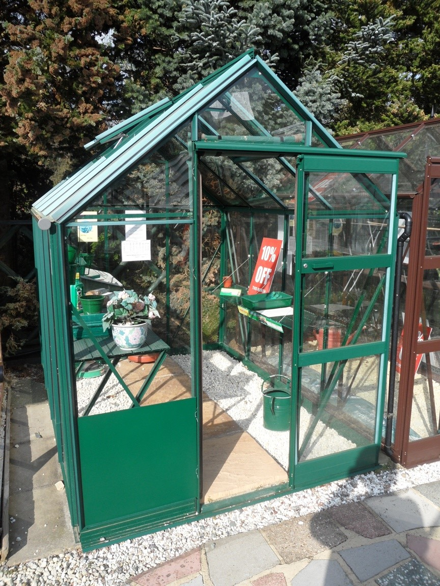 High Eaves Greenhouse 6'3'' x 8'5''