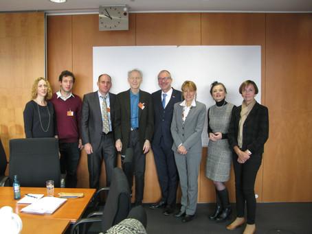 Treffen mit der deutsch-israelischen Parlamentariergruppe