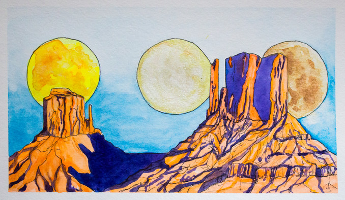 Monument Moons