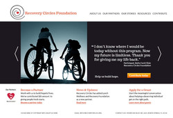 Recovery Circle Website