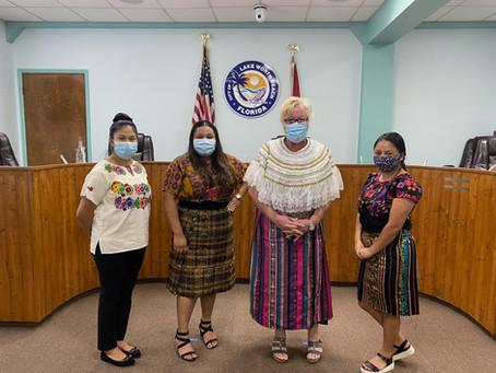 "Mayor of Lake Worth recognizes the Guatemalan Maya, saying ""mi casa es su casa"""