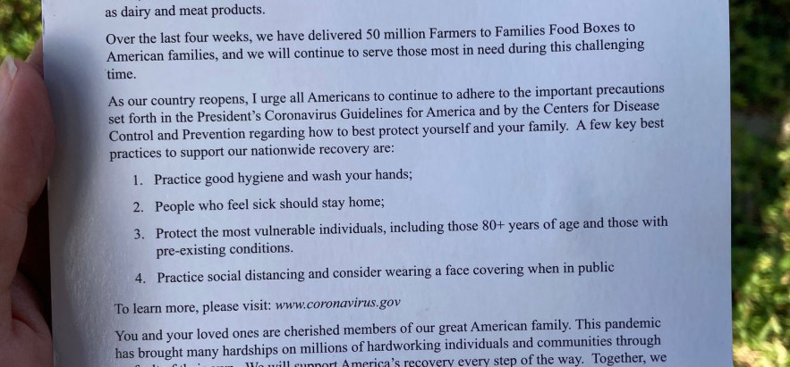 USDA Food Boxes Worry Migrant Workers