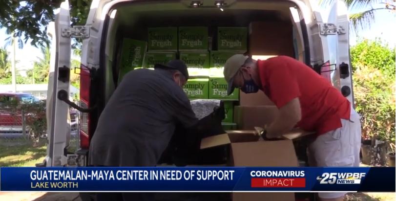 Guatemalan Maya Center feeding migrant families during pandemic