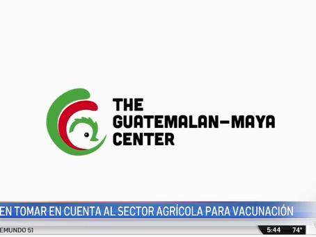 Trabajadores agrícolas quieren ser vacunados