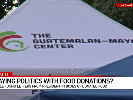 Lake Worth Beach residents worry Trump letter plays politics with food distribution