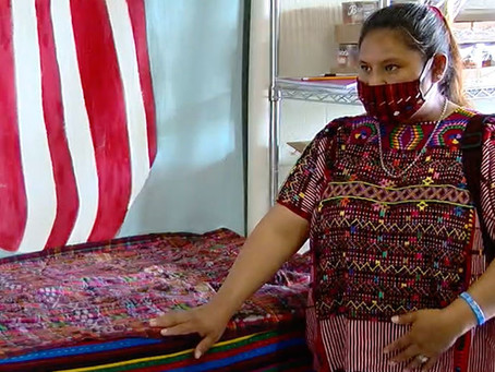 Lake Worth Beach woman pivots career, begins mask-making business using Mayan cloth