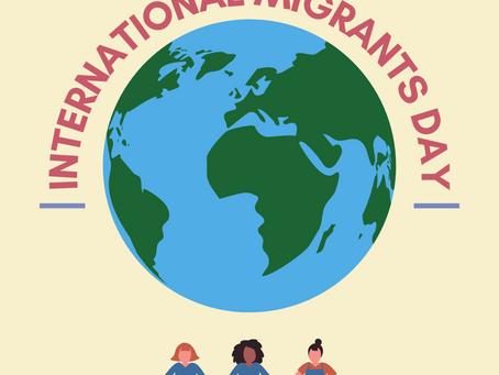 Happy International Migrants Day!