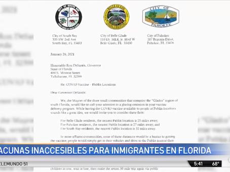 Alcaldes del condado Palm Beach abogan por modificación de plan de vacunación