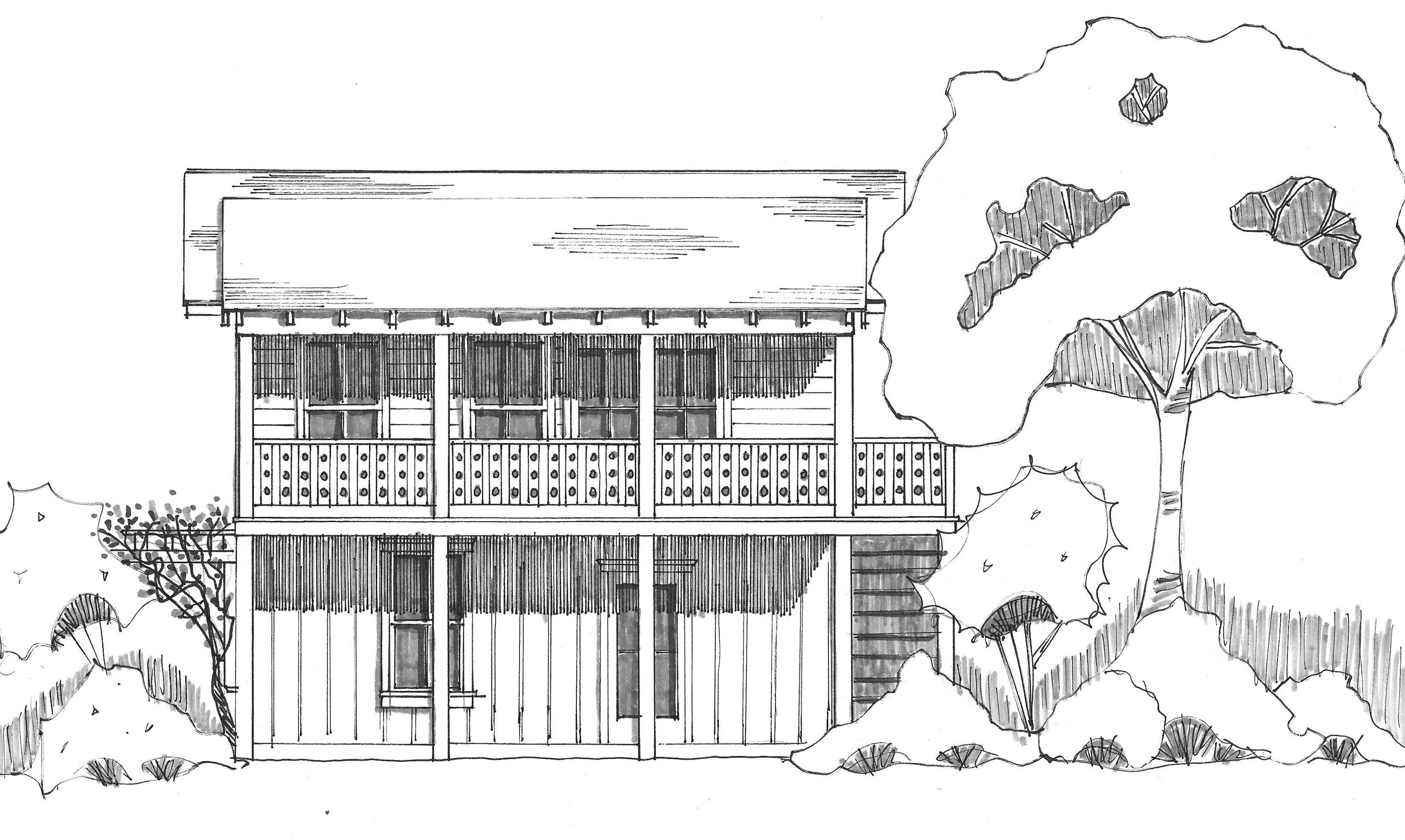 K's cottage front