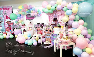 LOL Surprise Doll Birthday Party Decorations