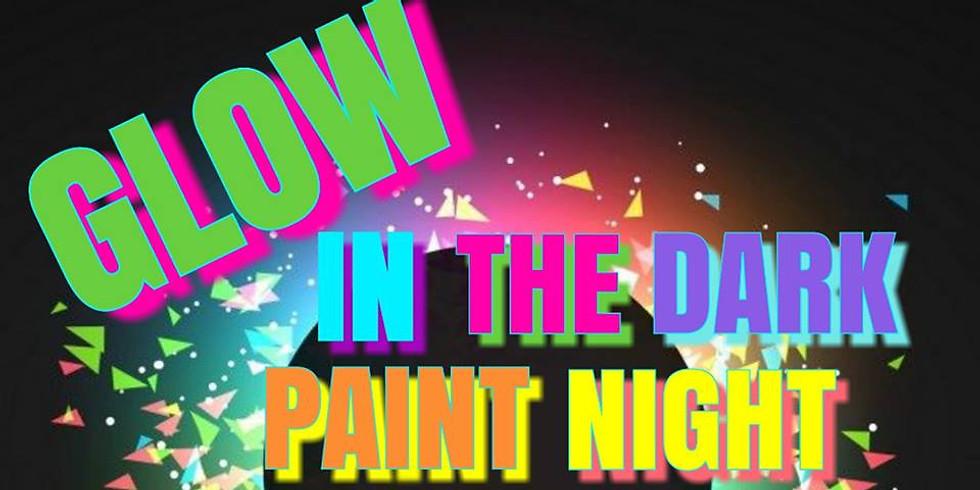 Fiesta de pintura que brilla en la oscuridad solo para adultos