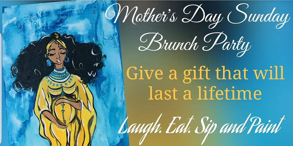 Mothers Day Brunch Paint Party