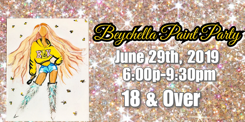 Beychella Paint Party