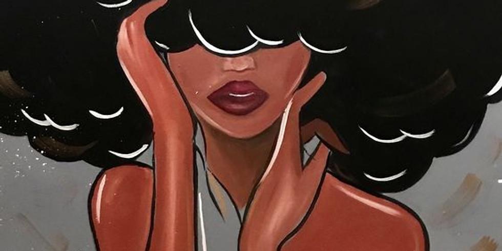 Black Girl Magic Brunch Paint Party