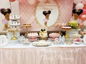 Baby Girl Dessert Table