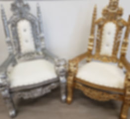 Children throne chairs