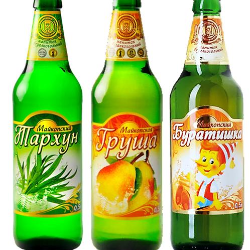 Лимонад Майкопский 0,5л /в ассортименте/
