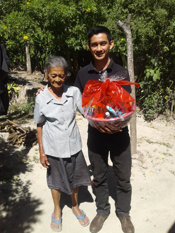 Food for the elderly in San Marcos