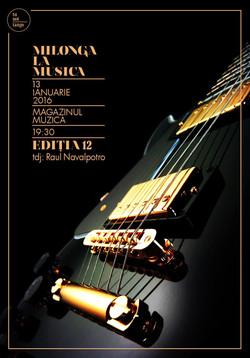 Flyer La Música