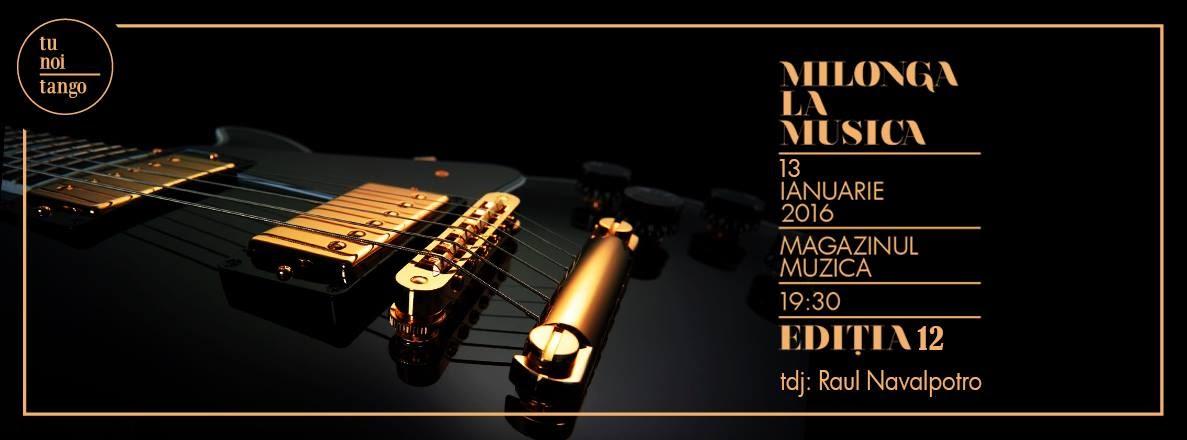 Flyer La Musica