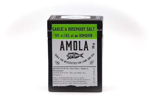 Amola Garlic & Rosemary Salt