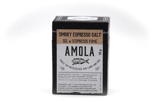 Amola Smoky Espresso Salt