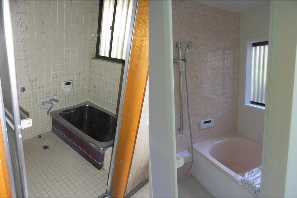 寒くて冷たいステンレス浴槽のリフォーム