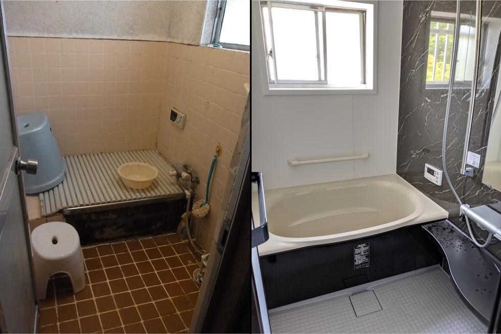 築30年の浴室リフォーム