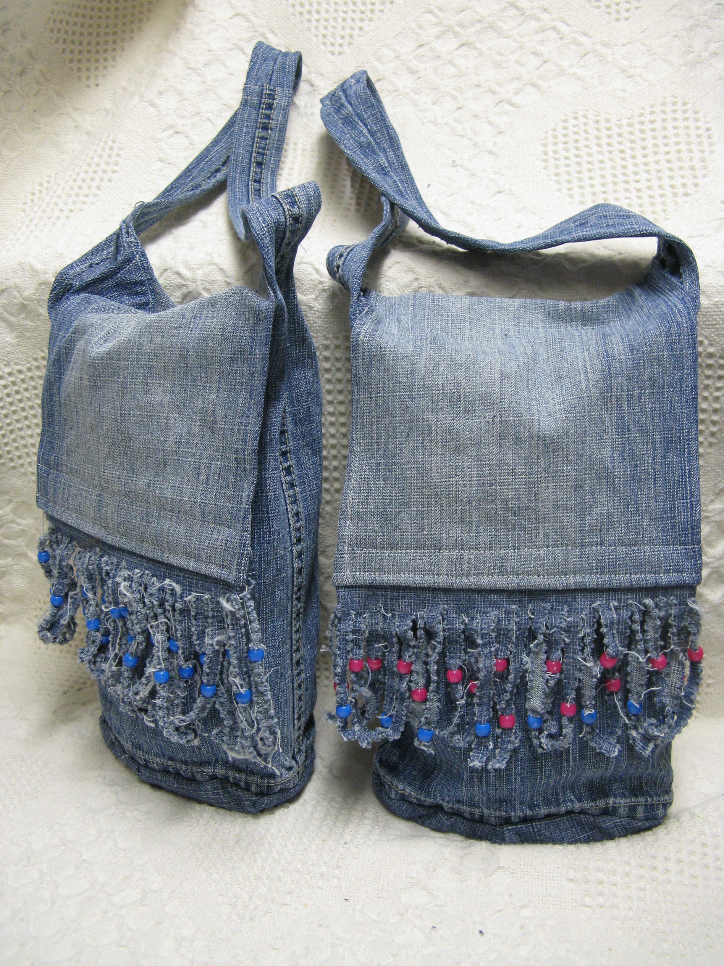 Beaded Fringe Purses