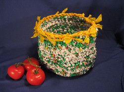 Plarn Fruit Basket