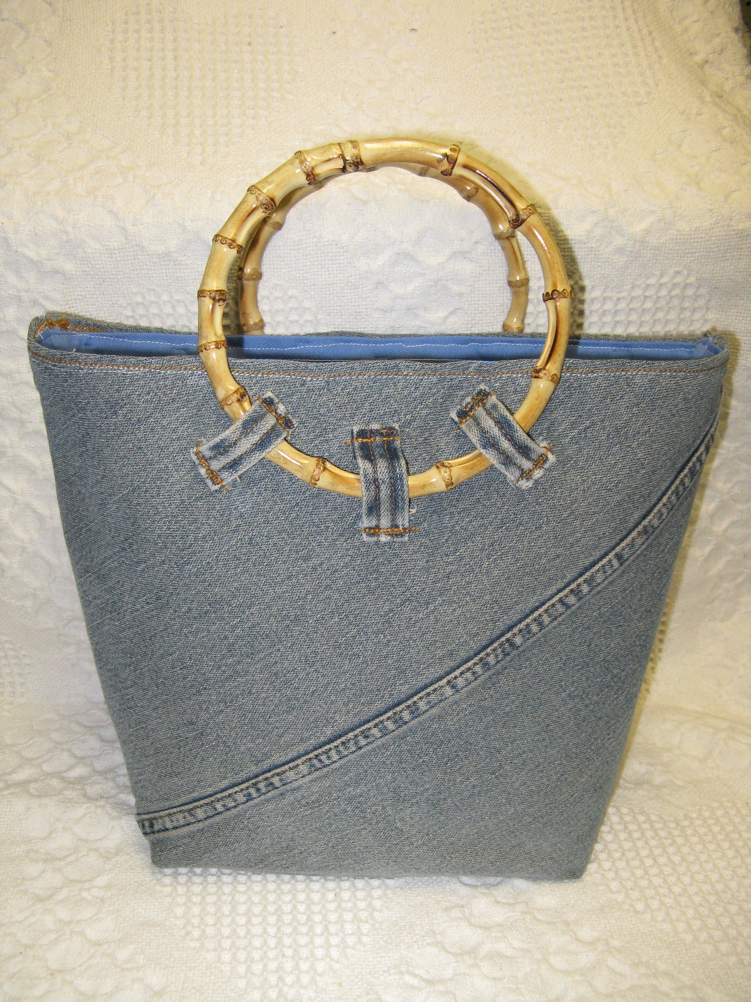 Bamboo Handled Purse