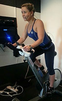 Spin Class Bike riding Bicycle Gym