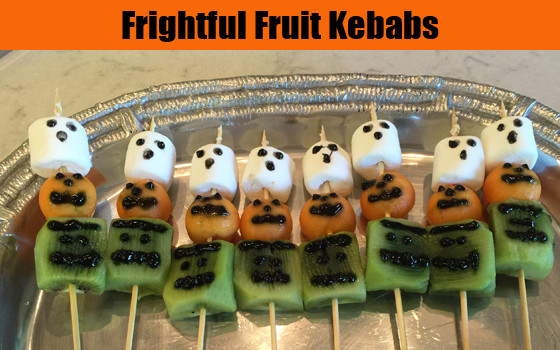 Frightful Fruit Kebabs recipe