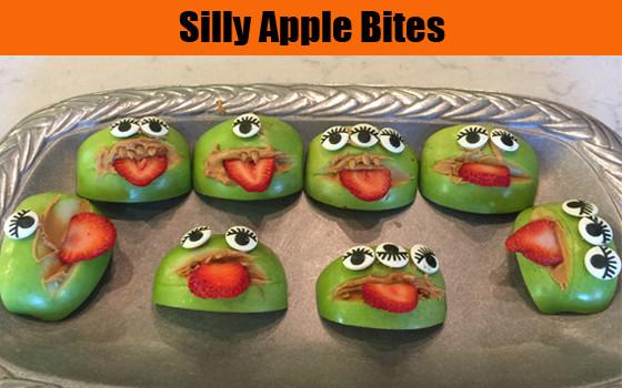 Silly Apple Bites recipe
