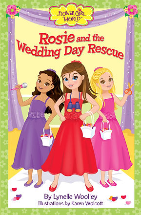 Rosie and the Wedding Day Rescue is the first chapter book adventure in the Flower Girl World series.