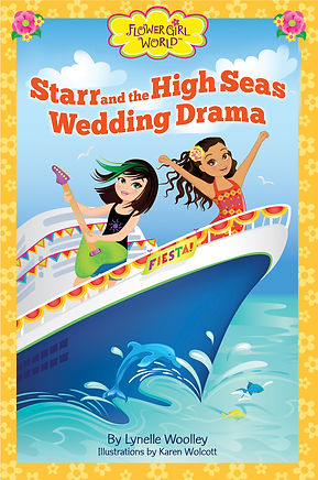 Starr and the High Seas Wedding Drama is the third chapter book adventure in the Flower Girl World series