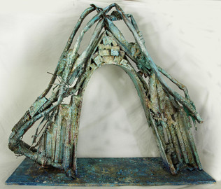 sea arch Andy Cairns mixed media assembl