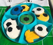 Football Biscuits
