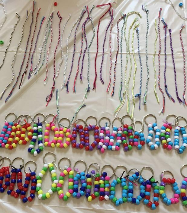 Keyrings and Friendship Bracelets