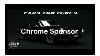 Cars for Cures Chrome Sponsor Package