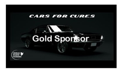 Cars for Cures Gold Sponsor Package