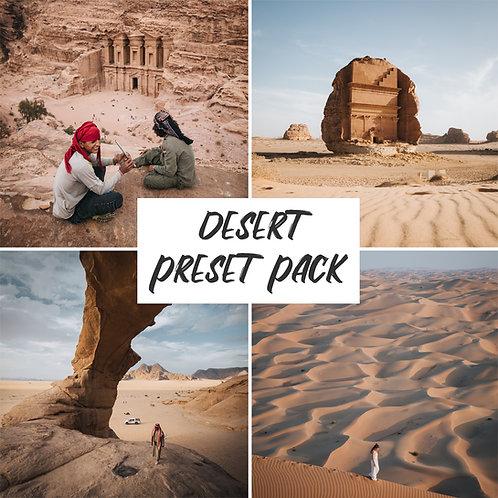 DESERT PACK | @JORDHAMMOND
