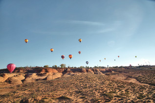 Hot Air Ballooning In Page, Arizona