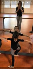 Attività Off ice: lezioni di danza con l'insegnante Olga Romachko