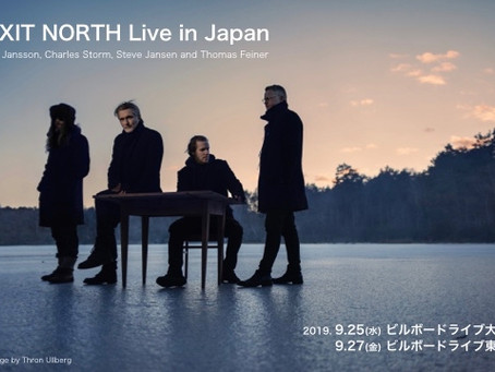Exit North are to perform four shows in Japan at Billboard Live in Osaka and Tokyo