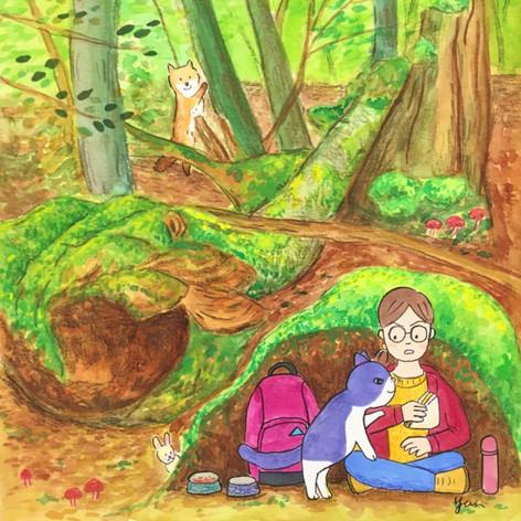 Forest Trek with Shun Shun
