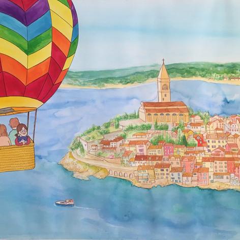 Hot Air Balloon Trip in Croatia
