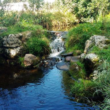 """La rivière """"la semène"""". Vous l'a croiserez lors de vos randonnées"""