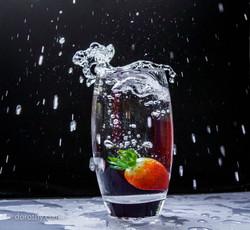 The Strawberry shot
